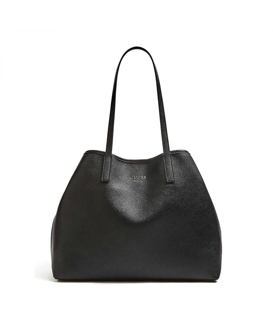 Image for Large Tote Bag Vikky with pochette Guess BLACK