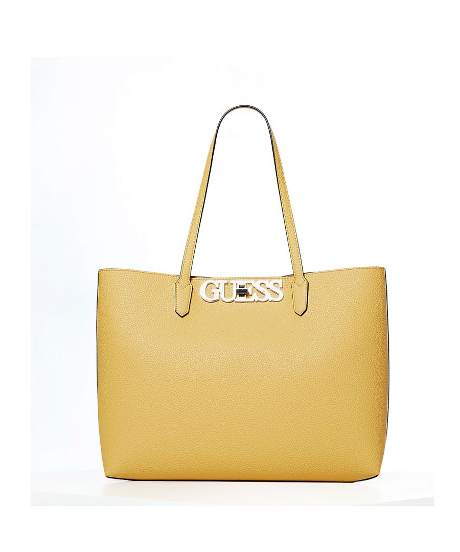 Image for Shopper Uptown Chic Guess YELLOW