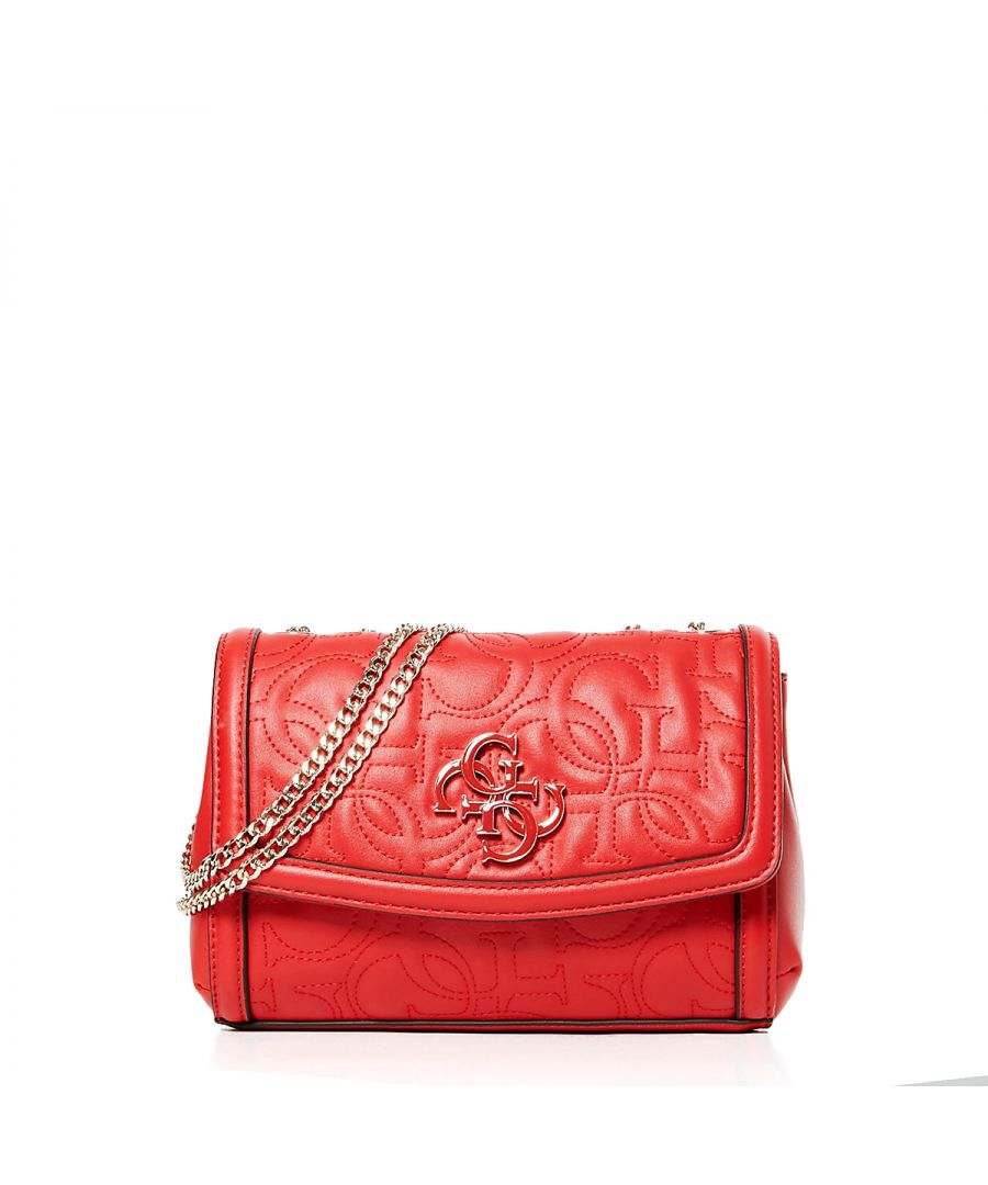Image for Mini convertible crossbody New Wave 4G Guess RED