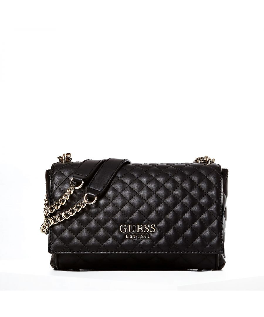 Image for Convertible Quilted Brielle Crossbody Guess BLACK