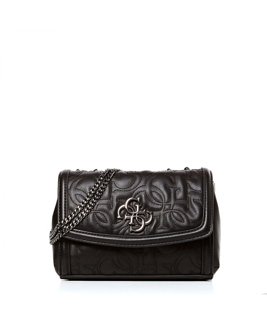 Image for Mini New Wave Convertible Crossbody 4G Guess BLACK