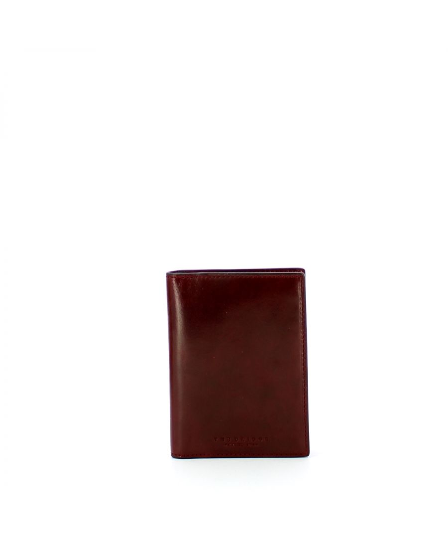 Image for Vertical Men Wallet Capalbio The Bridge BORDEAUX ABB. O