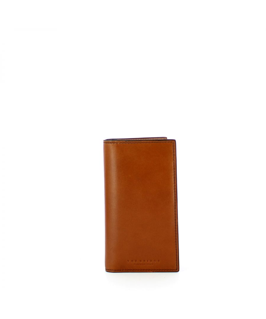 Image for Vertical Card Holder Capalbio The Bridge COGNAC ABB. ORO