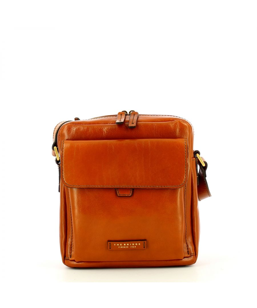 Image for Men crossbody Capalbio The Bridge COGNAC ABB. ORO