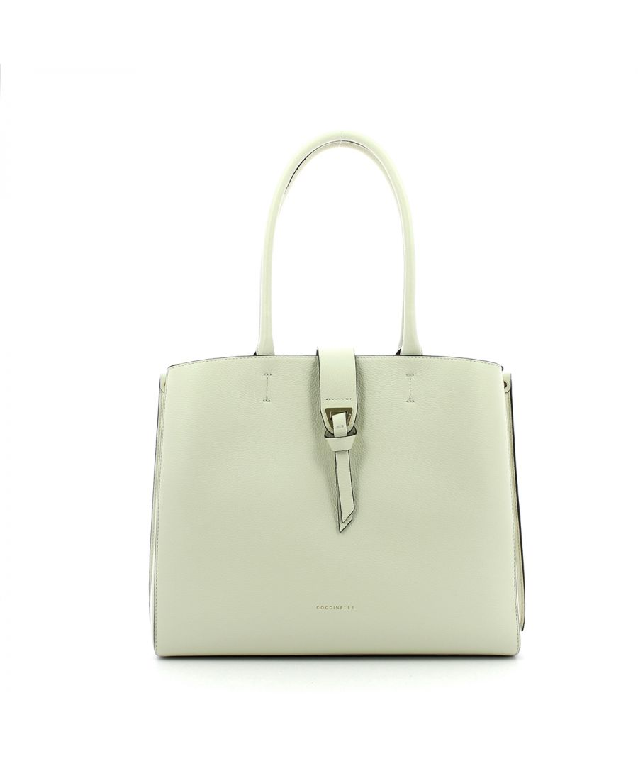 Image for Maxi Alba Shoulderbag Coccinelle CHALK