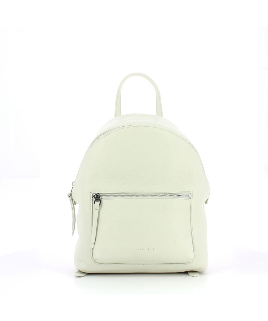Image for Alix Backpack in Grained Leather Coccinelle CHALK
