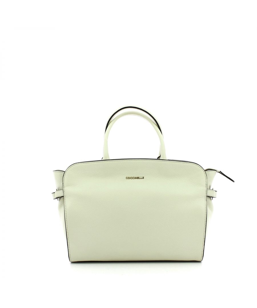 Image for Ella Handbag Medium Coccinelle CHALK
