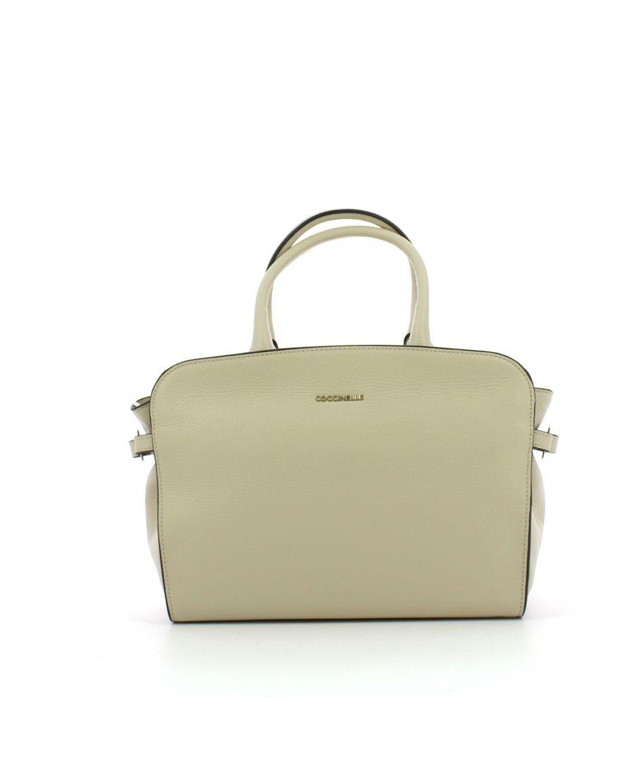 Image for Ella Medium Handbag Coccinelle SEASHELL