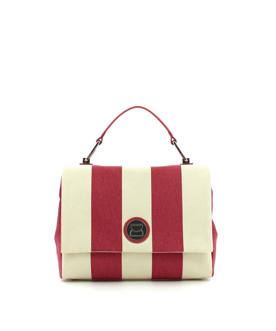 Image for Liya Medium Handbag in Canvas Coccinelle BOUGANV/BOUGANV