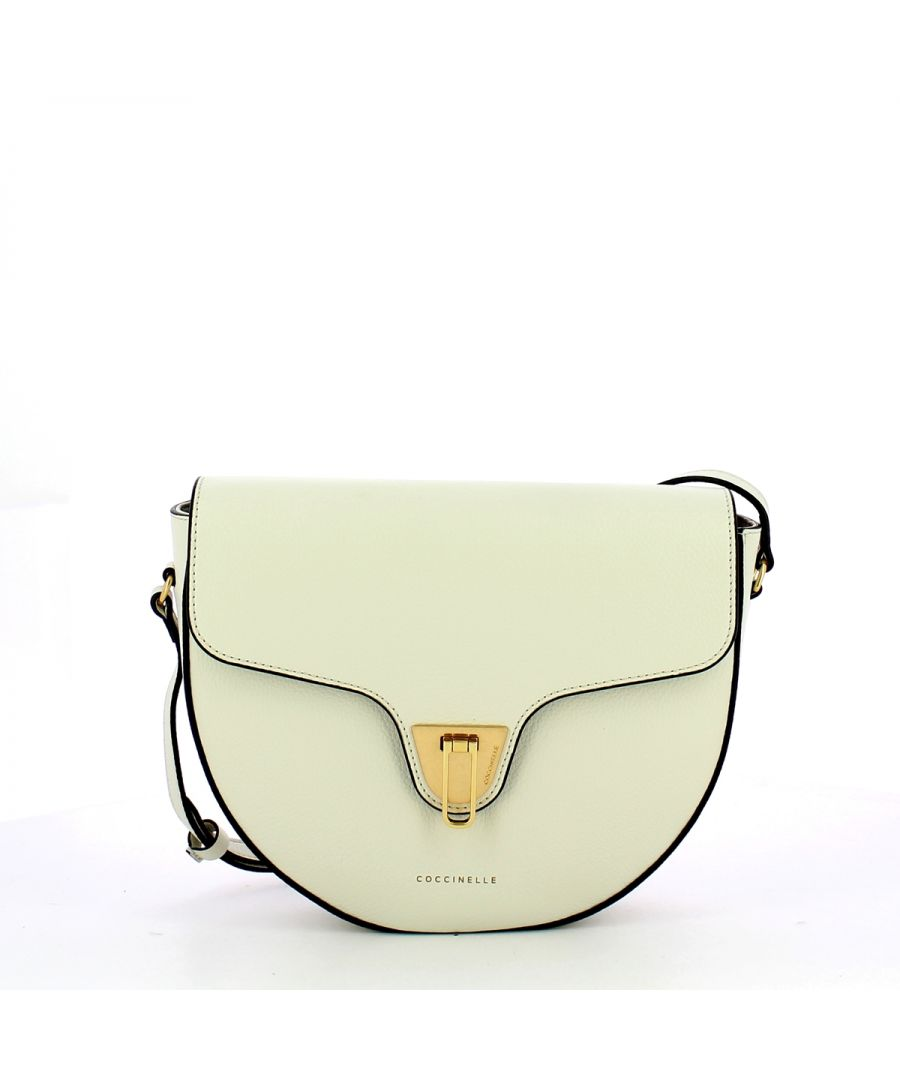Image for Beat Soft Crossbody Bag Coccinelle CHALK