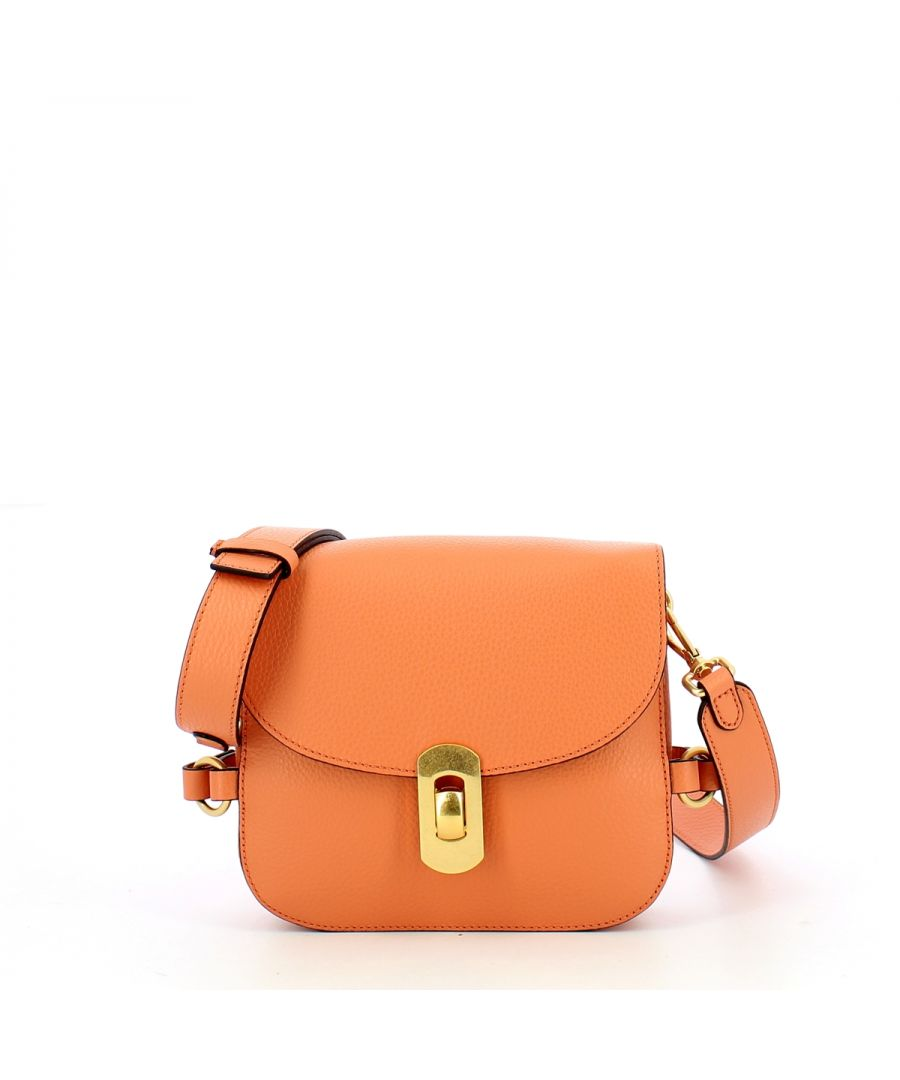 Image for Zaniah Minibag in Leather Coccinelle PEACH