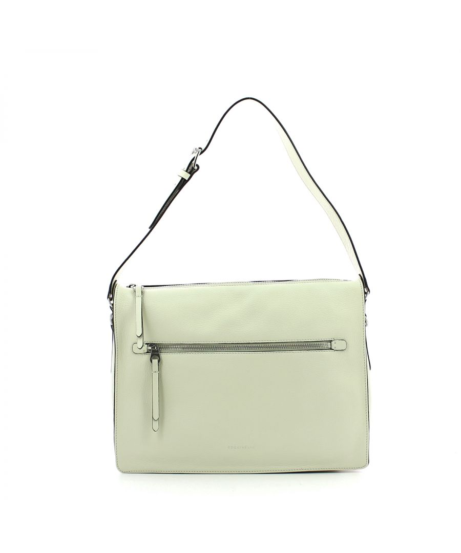 Image for Twiga Shoulderbag in genuine leather Coccinelle CHALK