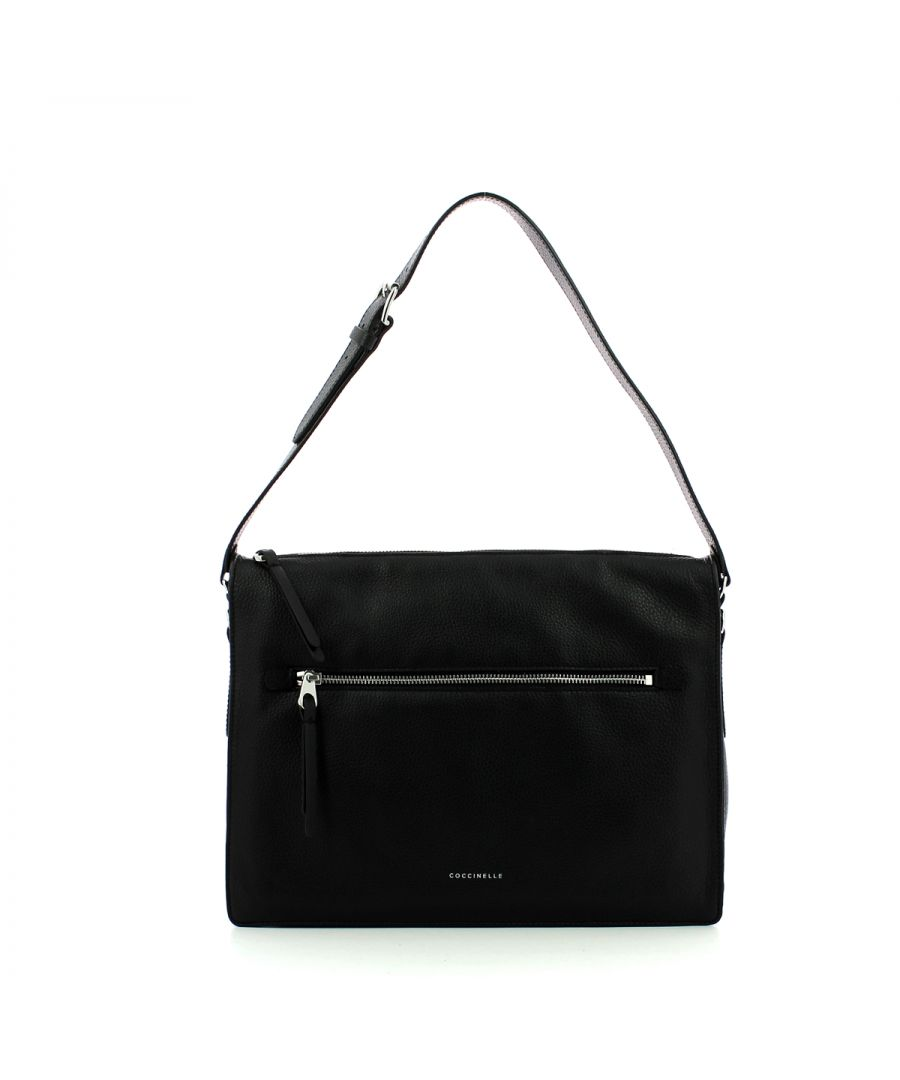 Image for Twiga Shoulderbag in genuine leather Coccinelle NOIR