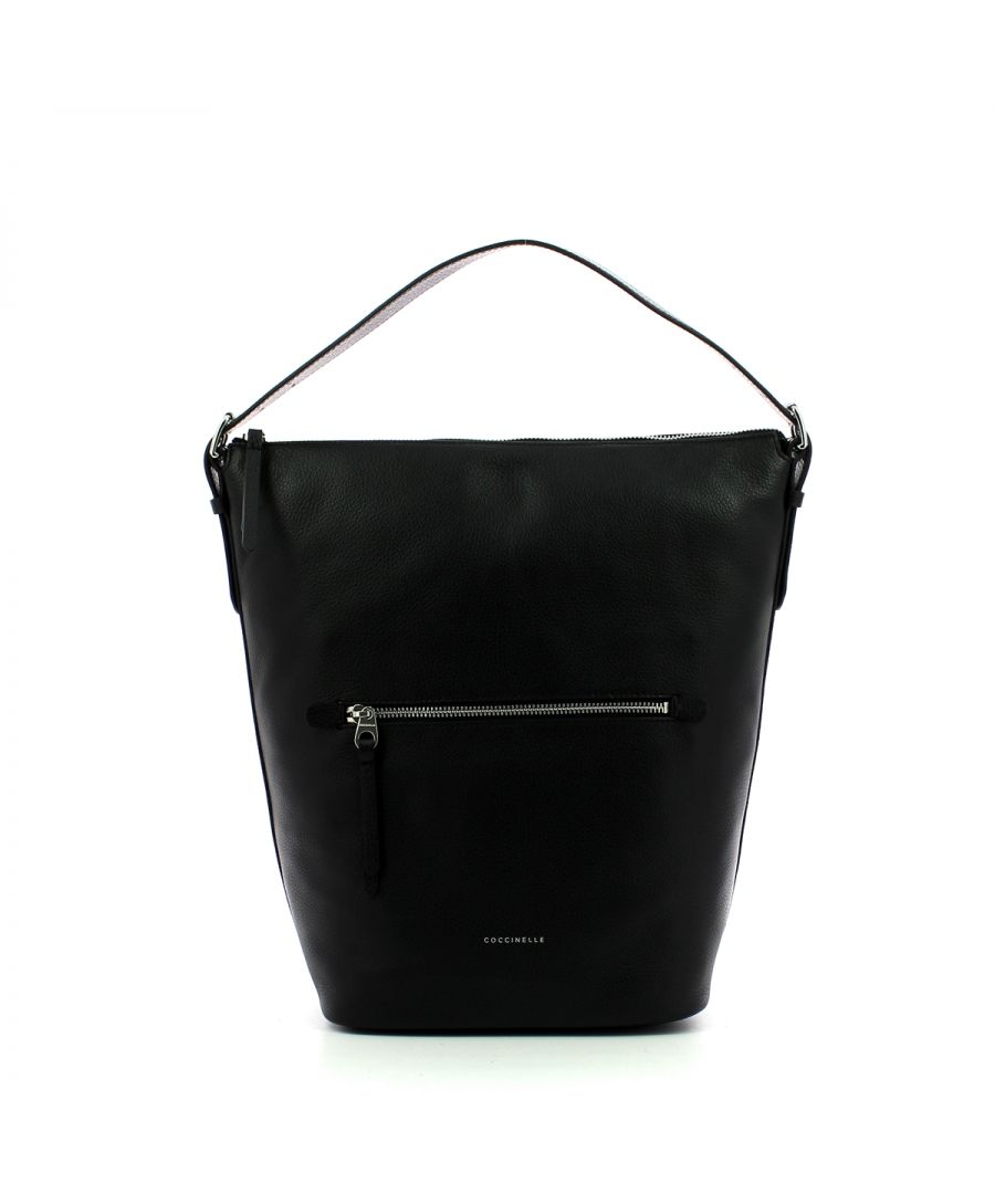 Image for Twiga vertical hobo bag Coccinelle NOIR