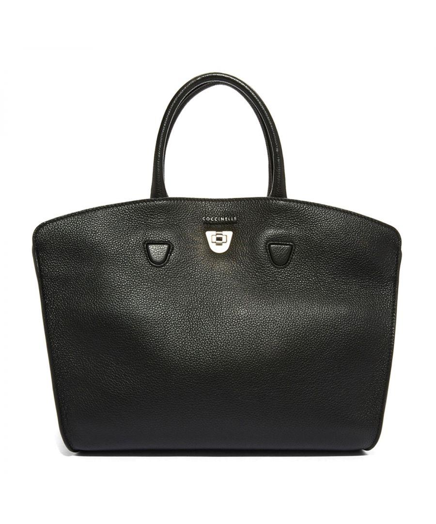 Image for Angie Medium Handbag Coccinelle NOIR
