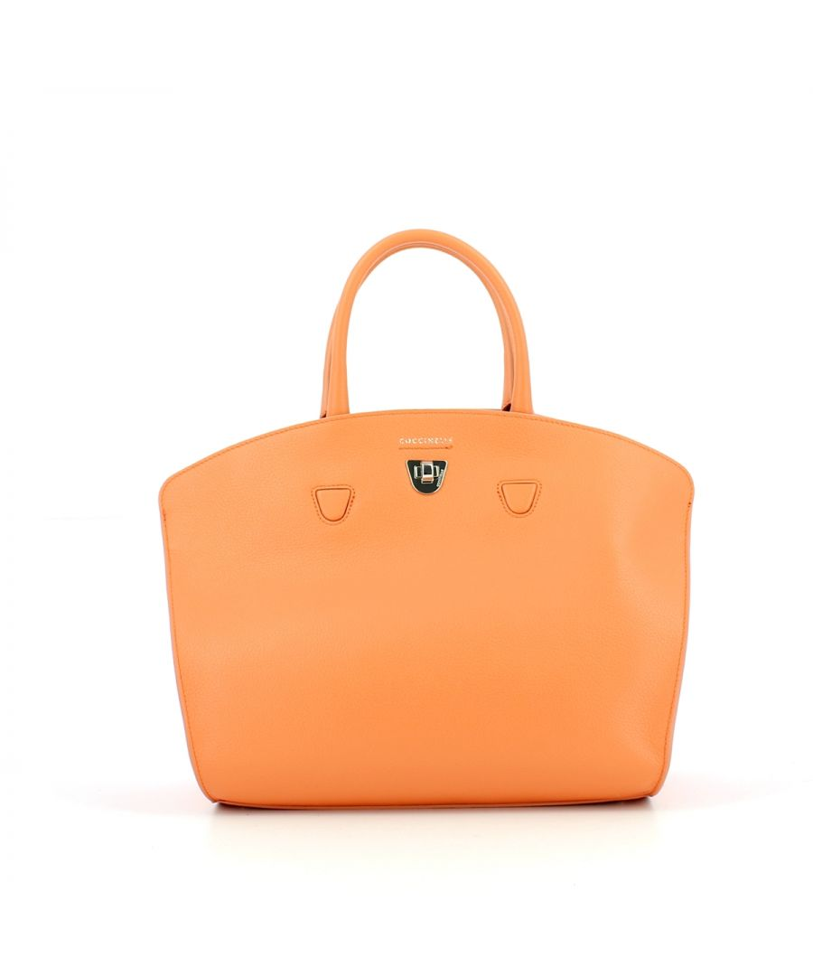 Image for Angie Medium Handbag Coccinelle PEACH