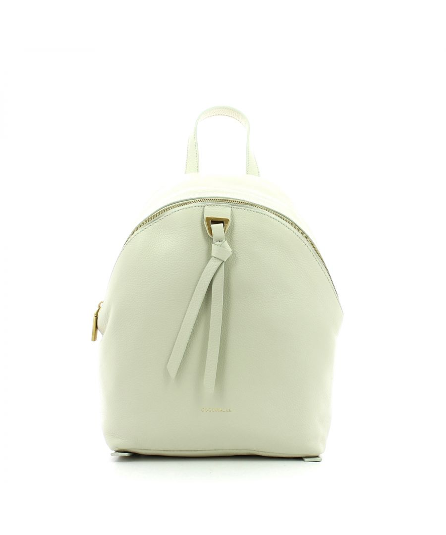 Image for Joy Backpack in genuine leather Coccinelle CHALK