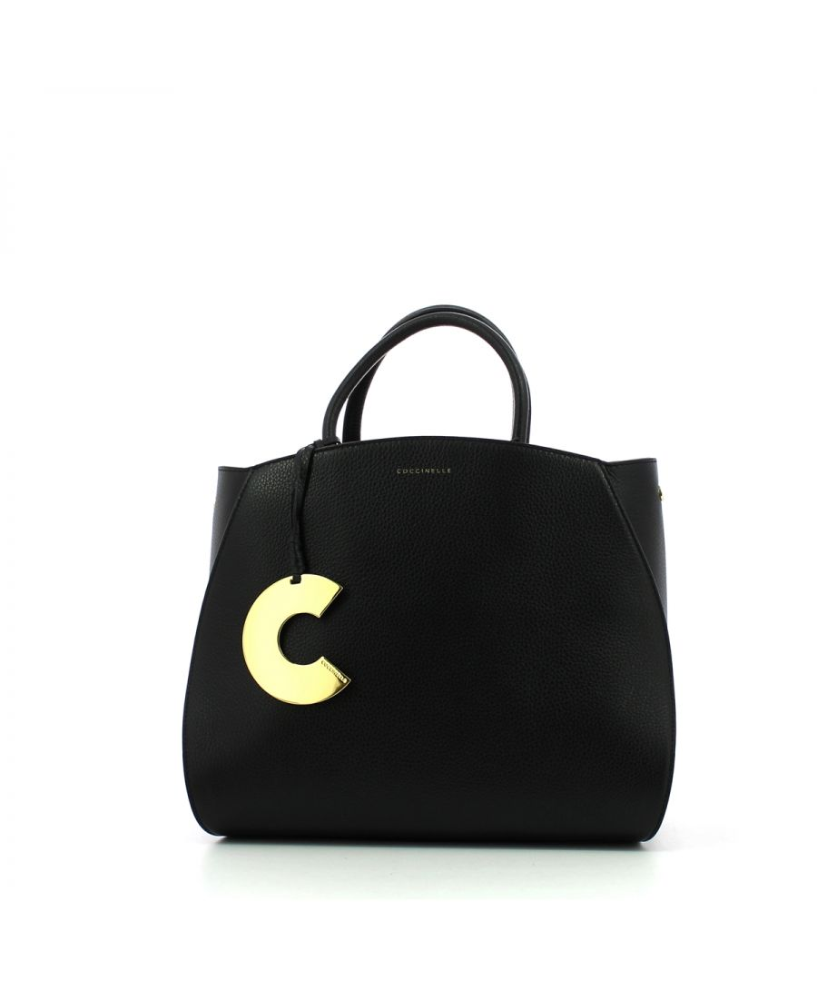 Image for Concrete Medium Handbag Coccinelle NOIR