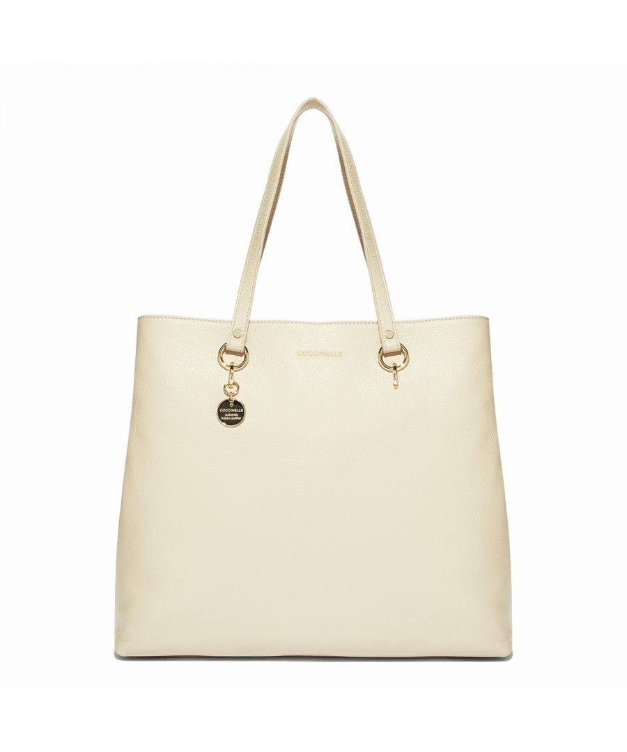 Image for Alpha Medium Shopping Bag Coccinelle SEASHELL