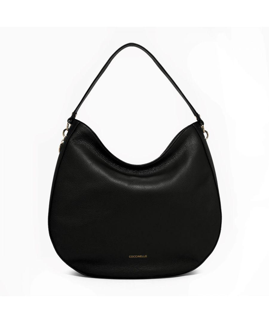 Image for Alpha Hobo Bag Coccinelle NOIR