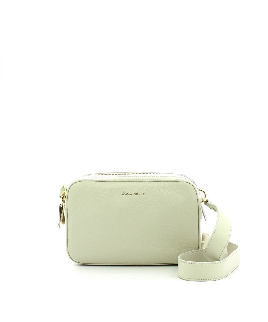 Image for Double Zip Camera Bag Alpha Coccinelle CHALK