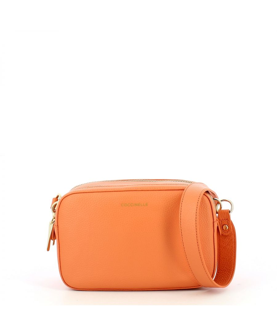 Image for Alpha Double Zip Camera Bag Coccinelle PEACH