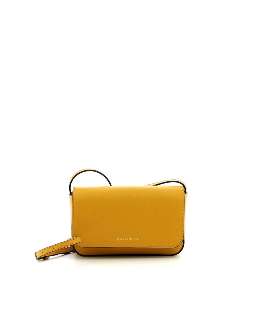 Image for Minibag Annetta in Tumbled Leather Coccinelle SUN