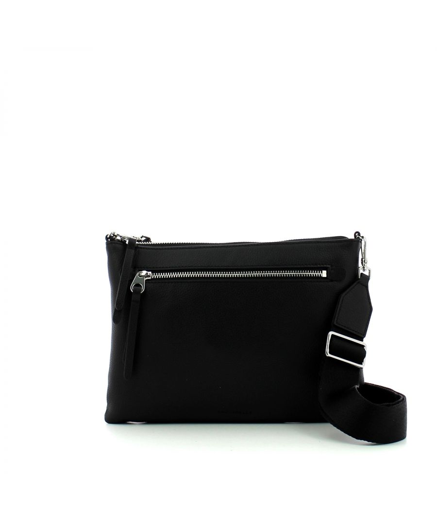 Image for Mini Flat Crossbody Bag Coccinelle NOIR