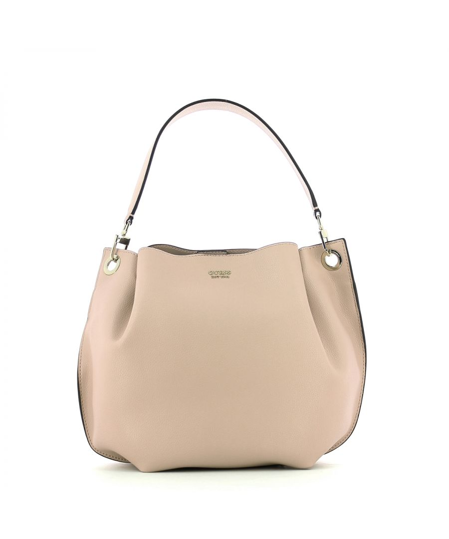 Image for Hobo Bag Digital with crossbody Guess BLUSH
