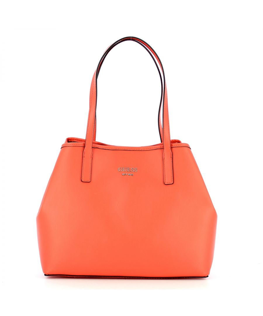Image for Large Tote Bag Vikky with pochette Guess CORAL