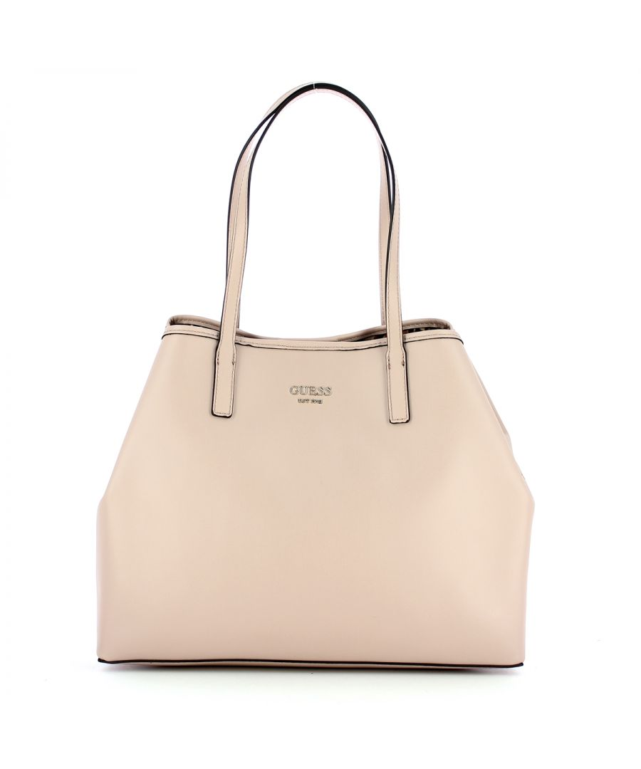 Image for Large Tote Bag Vikky with pochette Guess ROSEWOOD