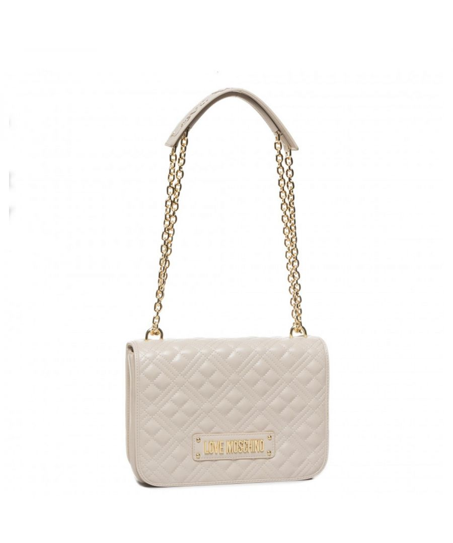 Image for Convertible Quilted Shoulderbag Love Moschino AVORIO