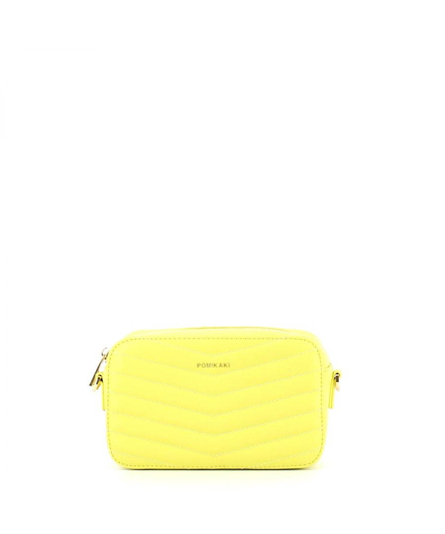Image for Quilted Crossbody Baby Pomikaki YELLOW