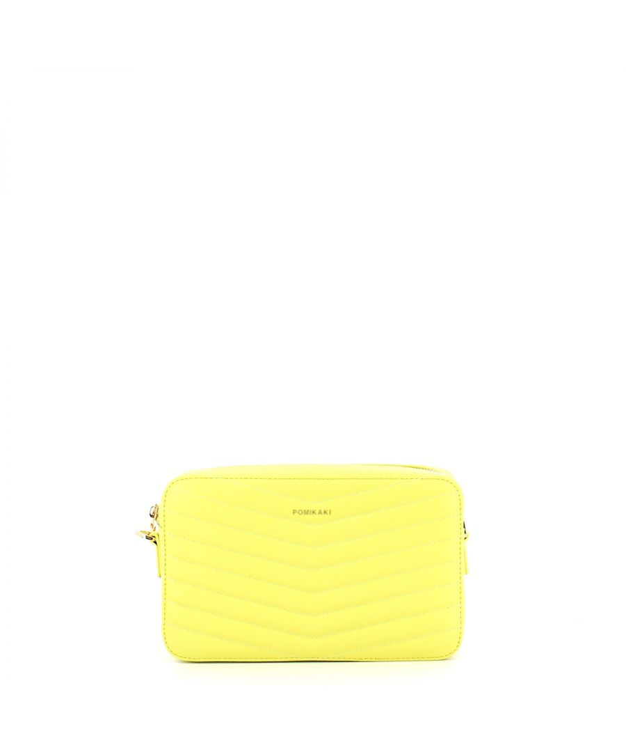 Image for Quilted camera bag Gioia Pomikaki YELLOW
