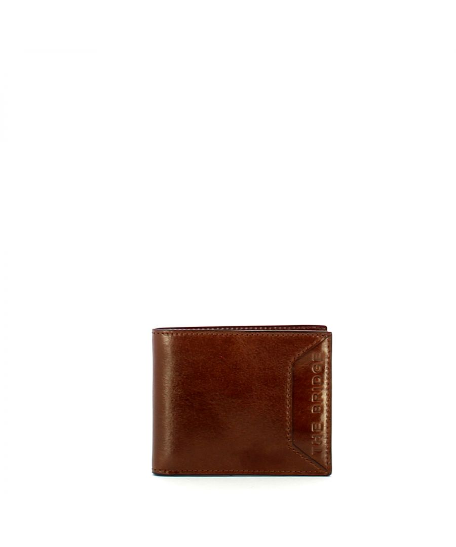 Image for Bufalini Wallet with card slots The Bridge MARRONE TB 14