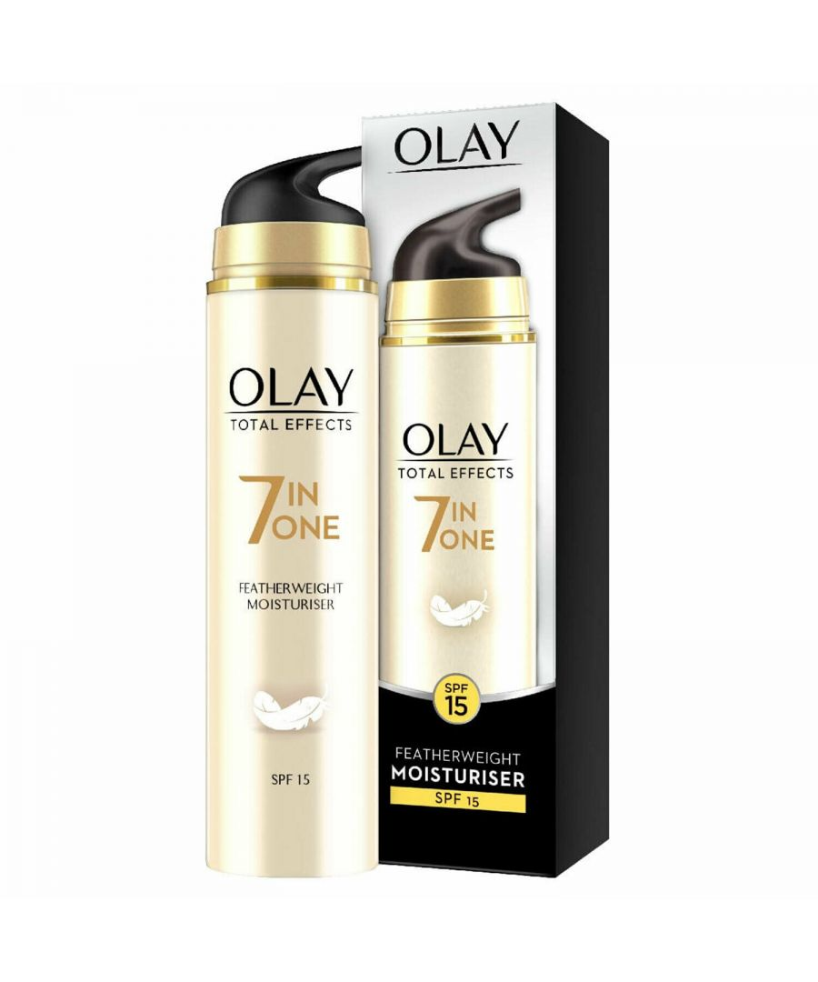 Image for Olay Total Effects Featherweight SPF15 Cream 50ml