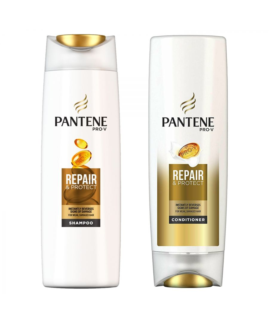 Image for Pantene Repair & Protect Shampoo 500ml & Conditioner 500ml
