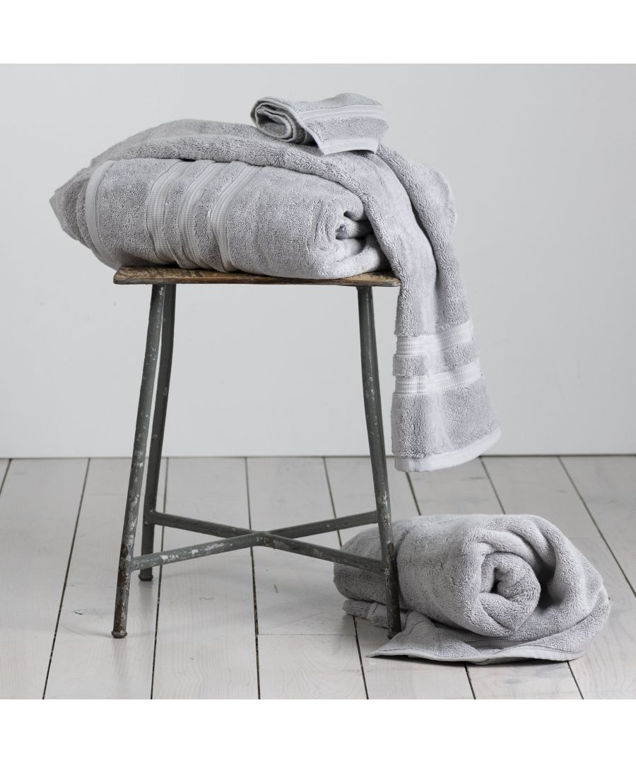 Image for 800 GSM Bath Towel (100% Turkish Pima Cotton) -silver