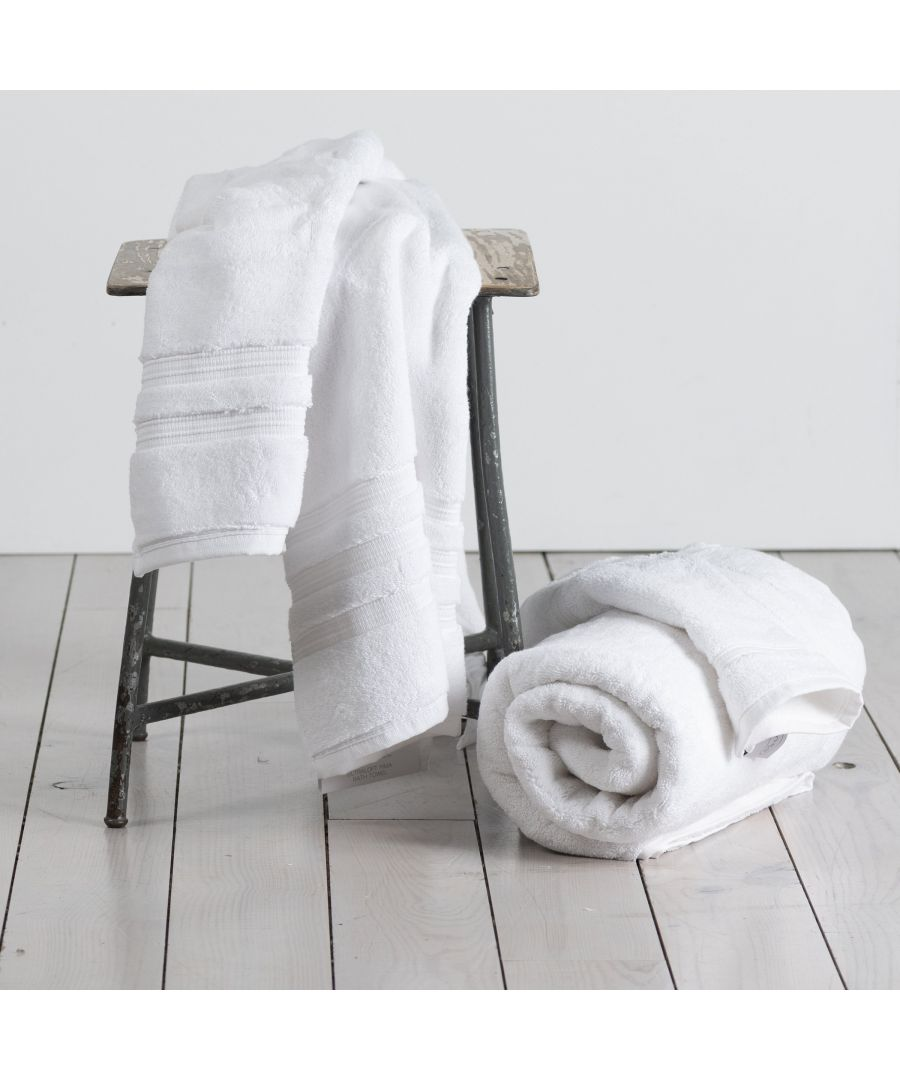 Image for 800 GSM Hand Towel (100% Turkish Pima Cotton) -white