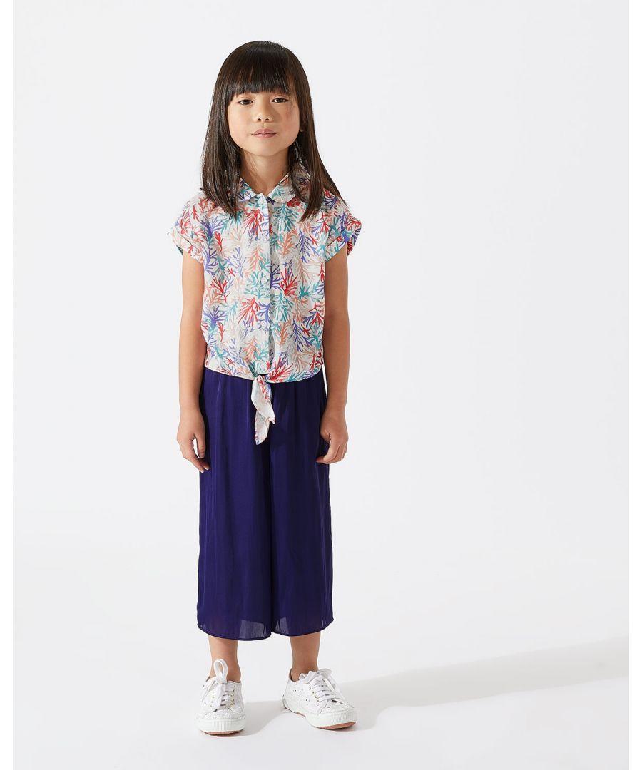 Image for Mini Crocus Drape Trouser