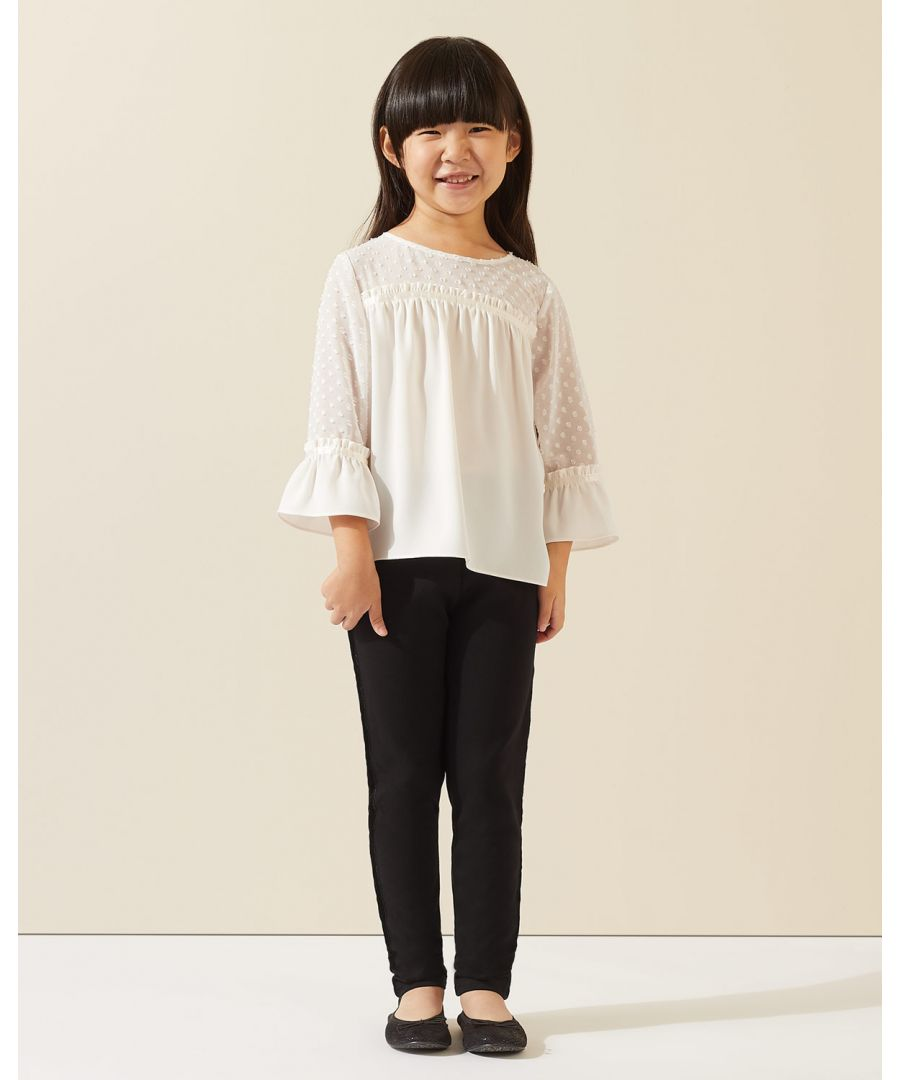 Image for Velvet Trim Trousers