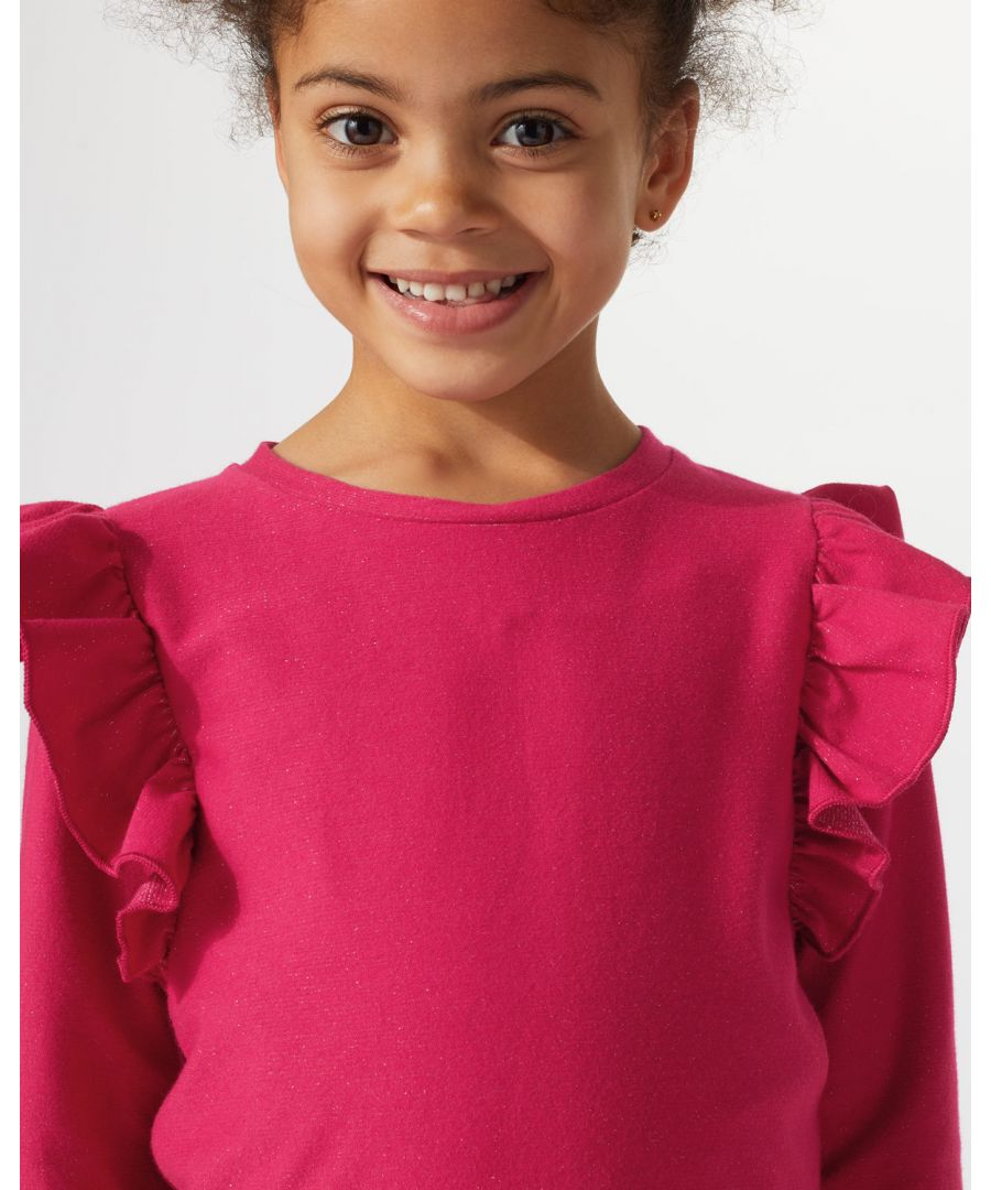 Image for Sparkle Ruffle Top