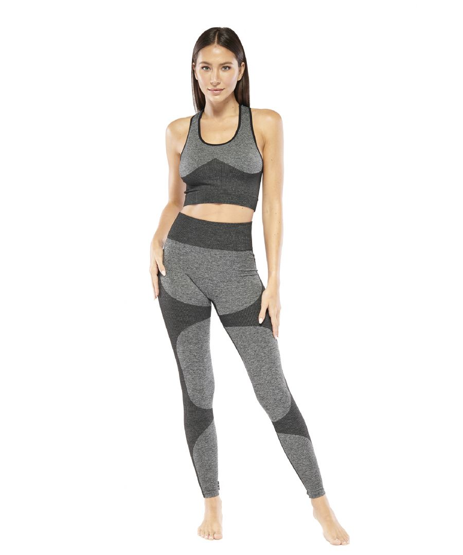 Image for High Impact Color Blocked Legging