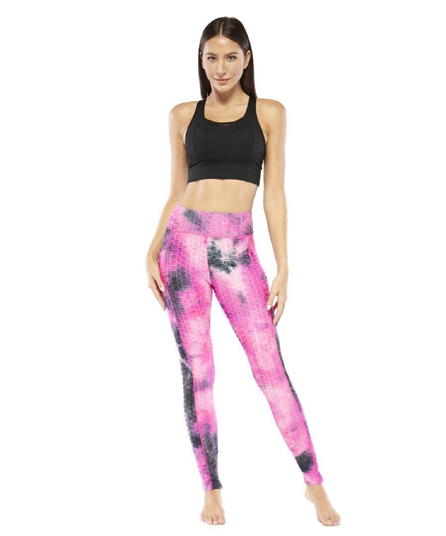 Image for Tye Dye Textured Legging