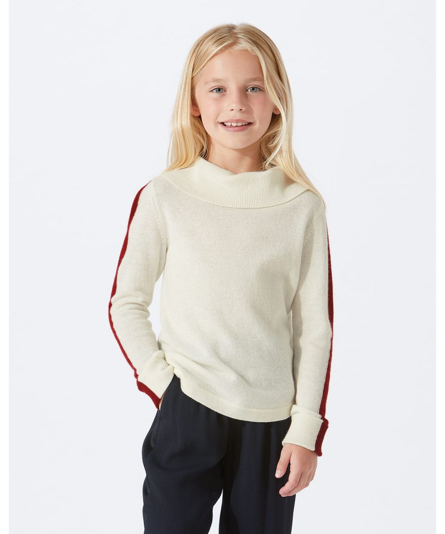 Image for Contrast Stripe Jumper