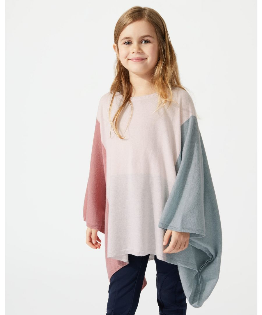 Image for Colour Block Poncho