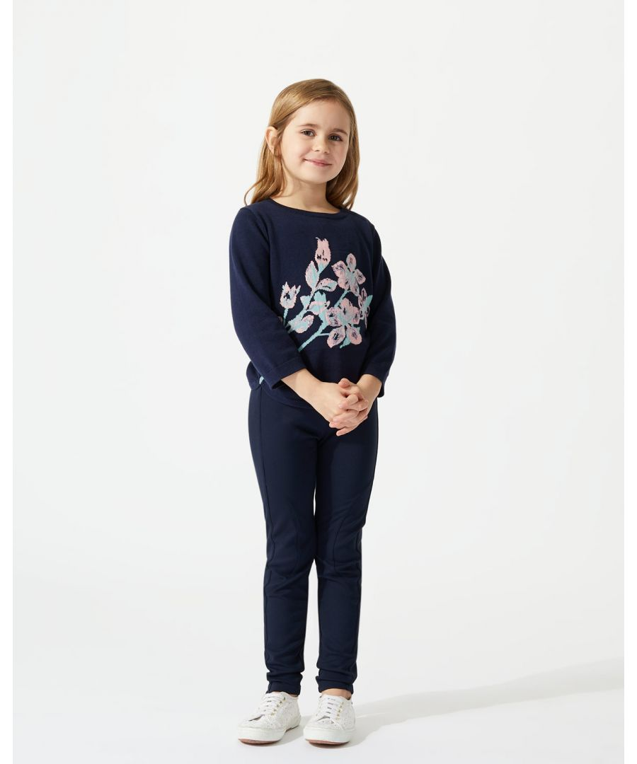 Image for Floral Intarsia Jumper