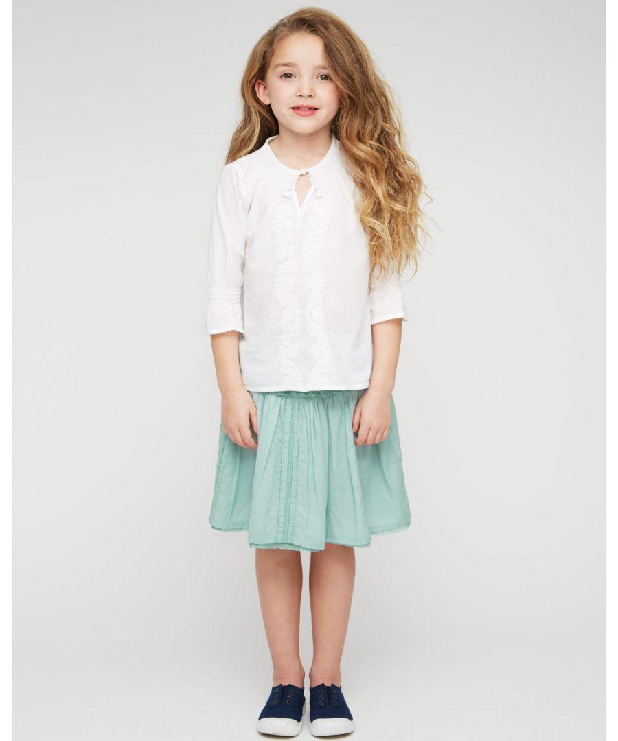 Image for Junior Lace Insert Skirt