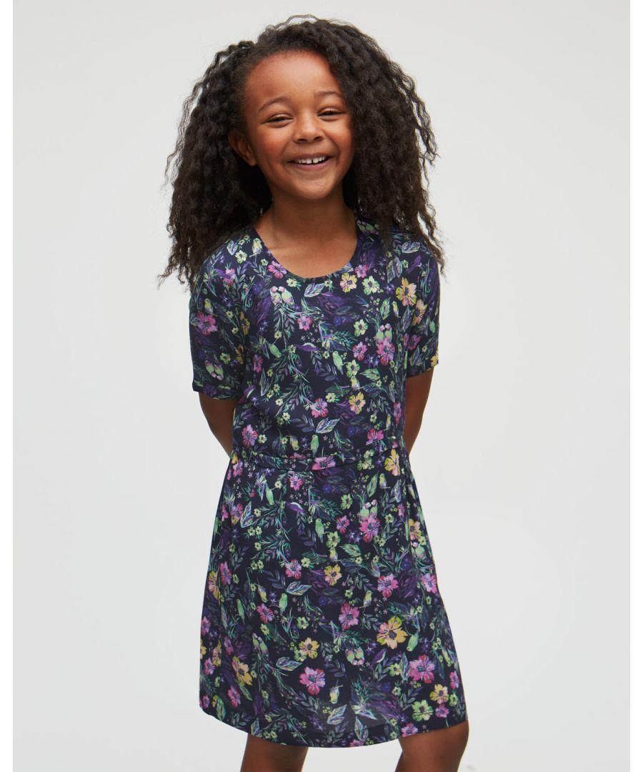 Image for Rainforest Floral Dress