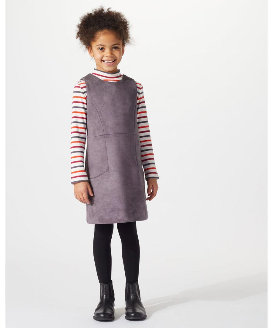 Image for Mini Suedette Dress